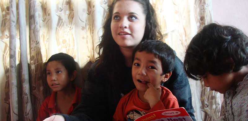 Volunteer In An Orphanage In Nepal Project